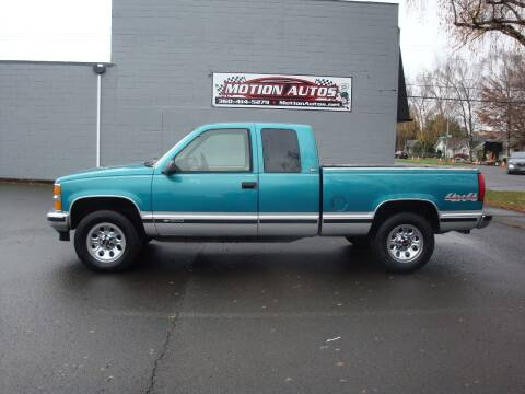 1994 Chevrolet C/K 1500 Series for sale at Motion Autos in Longview WA