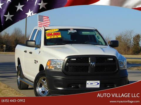 2017 RAM Ram Pickup 1500 for sale at AUTO VILLAGE LLC in Lebanon TN