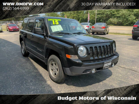 2015 Jeep Patriot for sale at Budget Motors of Wisconsin in Racine WI