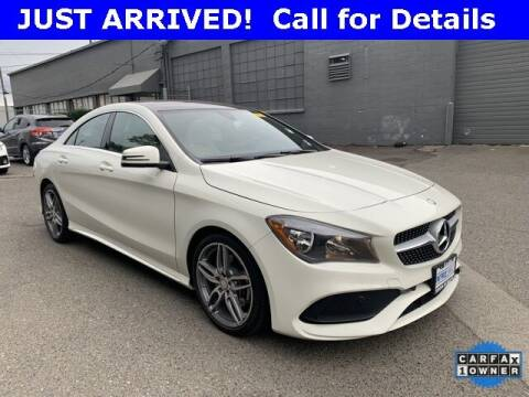 2017 Mercedes-Benz CLA for sale at Toyota of Seattle in Seattle WA
