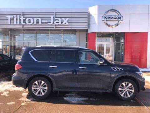 2016 Infiniti QX80 for sale at Virtue Motors in Darlington WI