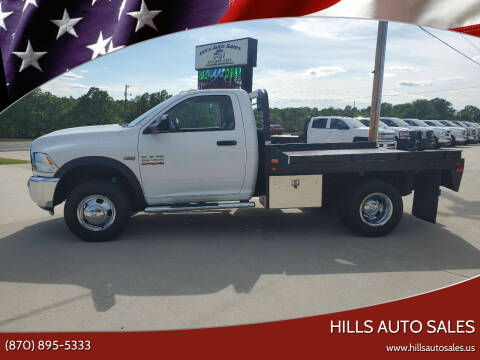 2015 RAM Ram Chassis 3500 for sale at Hills Auto Sales in Salem AR