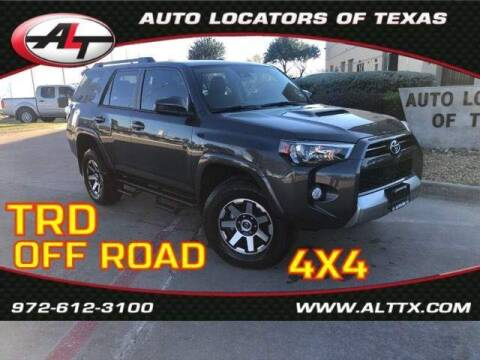 2020 Toyota 4Runner for sale at AUTO LOCATORS OF TEXAS in Plano TX