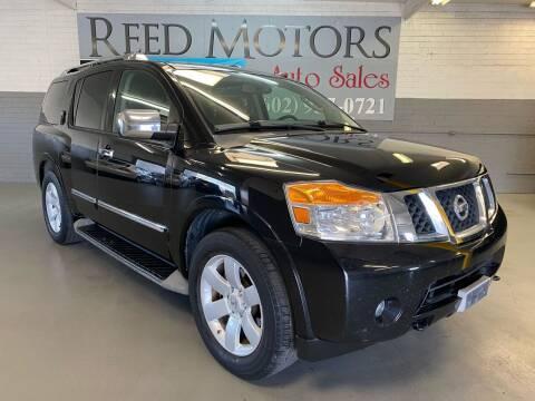 2010 Nissan Armada for sale at REED MOTORS LLC in Phoenix AZ