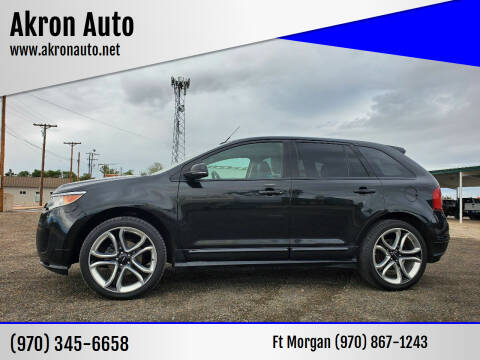 2014 Ford Edge for sale at Akron Auto - Fort Morgan in Fort Morgan CO