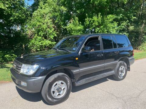 2003 Toyota Land Cruiser for sale at Trocci's Auto Sales in West Pittsburg PA