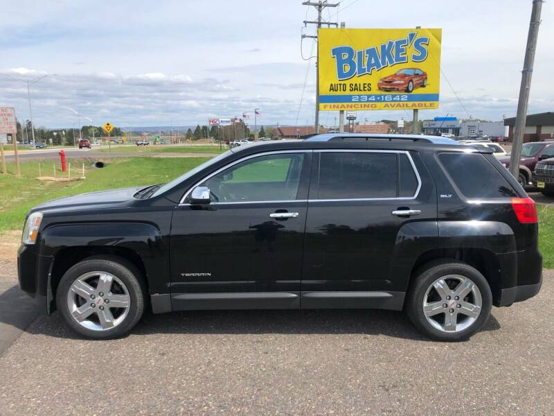 2011 GMC Terrain for sale at Blake's Auto Sales in Rice Lake WI