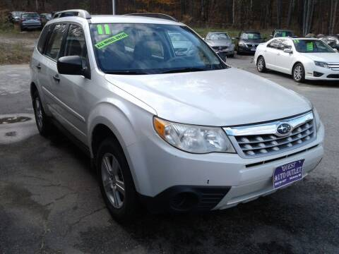 2011 Subaru Forester for sale at Quest Auto Outlet in Chichester NH