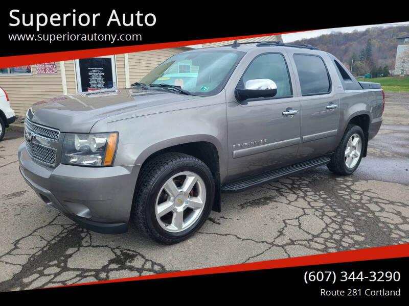 2008 Chevrolet Avalanche for sale at Superior Auto in Cortland NY