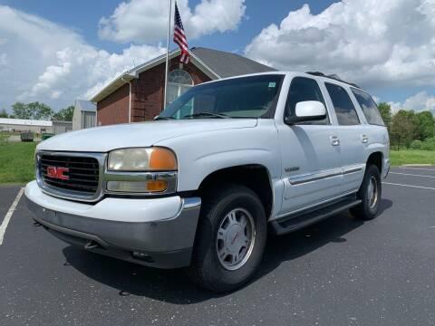 2002 GMC Yukon for sale at HillView Motors in Shepherdsville KY