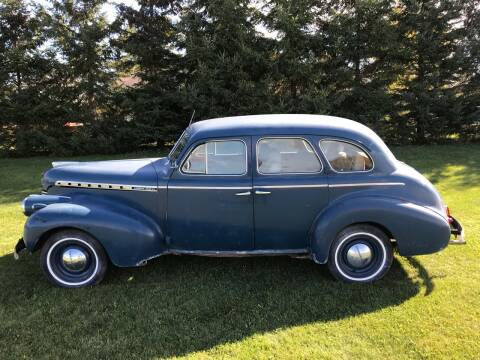 1940 Chevrolet SuperDeluxe for sale at BLAESER AUTO LLC in Chippewa Falls WI