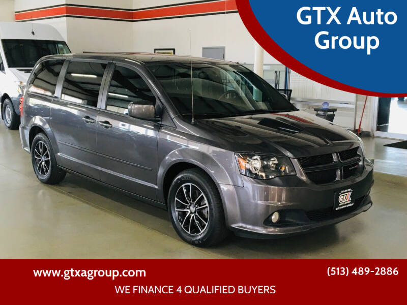 2017 Dodge Grand Caravan for sale at GTX Auto Group in West Chester OH