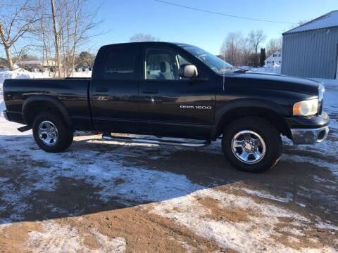 2003 Dodge Ram Pickup 1500 for sale at BLAESER AUTO LLC in Chippewa Falls WI