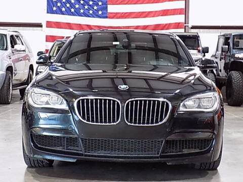 2013 BMW 7 Series for sale at Texas Motor Sport in Houston TX