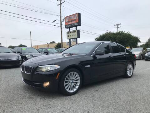 2012 BMW 5 Series for sale at Autohaus of Greensboro in Greensboro NC