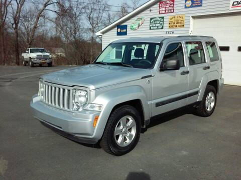 2011 Jeep Liberty for sale at AFFORDABLE AUTO SVC & SALES in Bath NY
