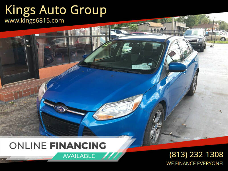 2012 Ford Focus for sale at Kings Auto Group in Tampa FL