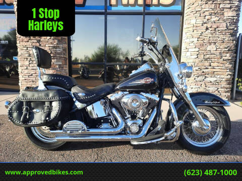 2007 Harley-Davidson Softail Heritage Classic FLSTC for sale at 1 Stop Harleys in Peoria AZ