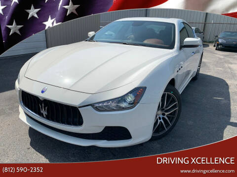 2017 Maserati Ghibli for sale at Driving Xcellence in Jeffersonville IN