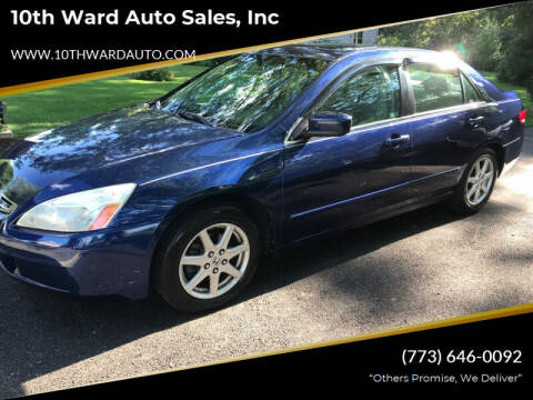 2004 Honda Accord for sale at 10th Ward Auto Sales, Inc in Chicago IL