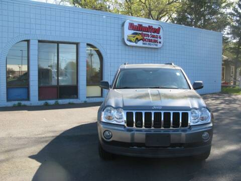 2007 Jeep Grand Cherokee for sale at Unlimited Auto Sales & Detailing, LLC in Windsor Locks CT