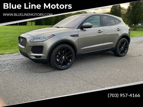 2020 Jaguar E-PACE for sale at Blue Line Motors in Winchester VA