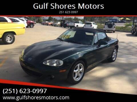 2001 Mazda MX-5 Miata for sale at Gulf Shores Motors in Gulf Shores AL