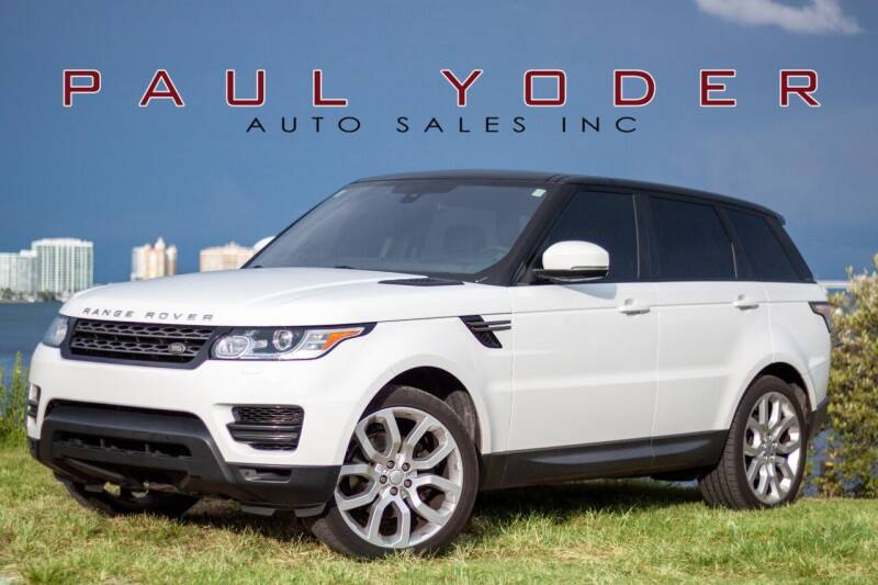 2016 Land Rover Range Rover Sport for sale at PAUL YODER AUTO SALES INC in Sarasota FL