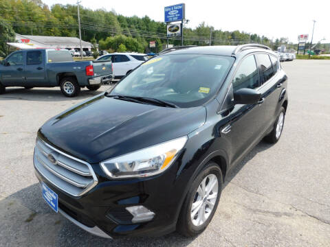 2018 Ford Escape for sale at Ripley & Fletcher Pre-Owned Sales & Service in Farmington ME