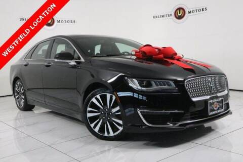 2017 Lincoln MKZ for sale at INDY'S UNLIMITED MOTORS - UNLIMITED MOTORS in Westfield IN