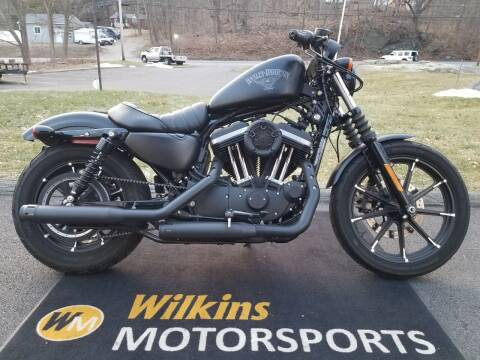 2017 Harley-Davidson Sportster Iron 883 for sale at WILKINS MOTORSPORTS in Brewster NY