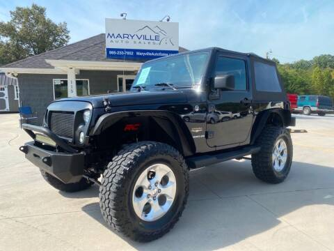 2015 Jeep Wrangler for sale at Maryville Auto Sales in Maryville TN