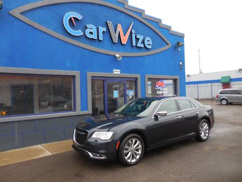 2018 Chrysler 300 for sale at Carwize in Detroit MI