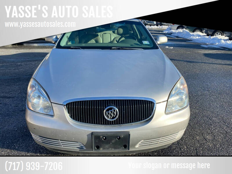 2008 Buick Lucerne for sale at YASSE'S AUTO SALES in Steelton PA