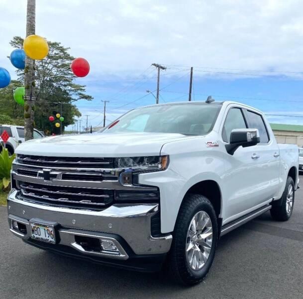 2020 Chevrolet Silverado 1500 for sale at PONO'S USED CARS in Hilo HI