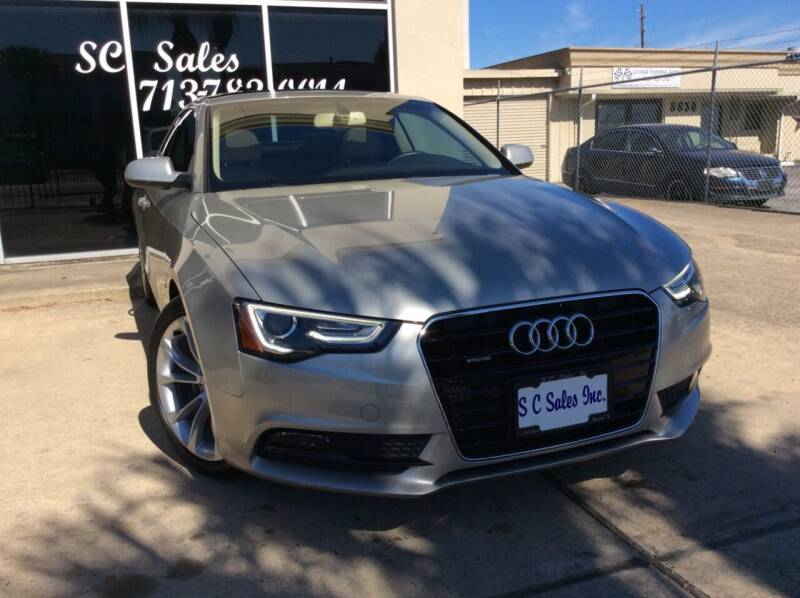 2013 Audi A5 for sale at SC SALES INC in Houston TX