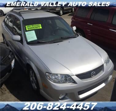 2002 Mazda Protege5 for sale at Emerald Valley Auto Sales in Des Moines WA