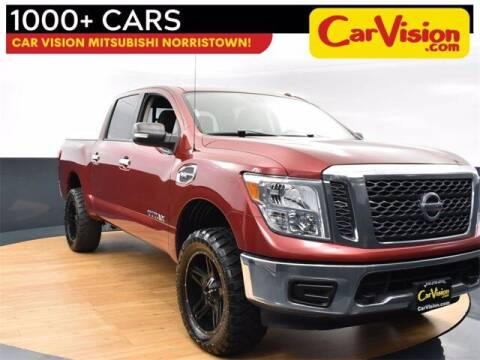 2017 Nissan Titan for sale at Car Vision Buying Center in Norristown PA