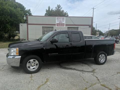 2013 Chevrolet Silverado 1500 for sale at Richland Motors in Cleveland OH