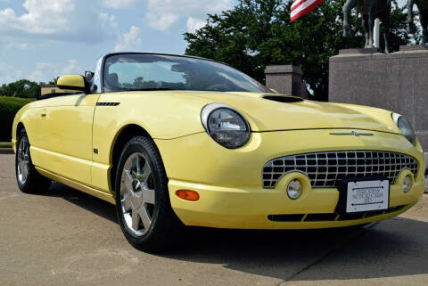 2002 Ford Thunderbird for sale at European Motor Cars LTD in Fort Worth TX