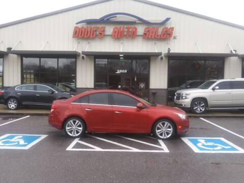 2011 Chevrolet Cruze for sale at DOUG'S AUTO SALES INC in Pleasant View TN