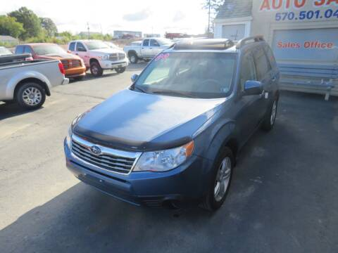 2009 Subaru Forester for sale at Small Town Auto Sales in Hazleton PA