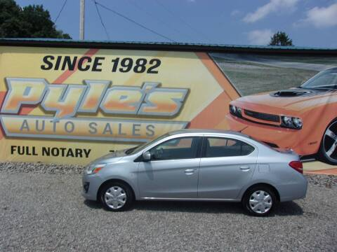 2017 Mitsubishi Mirage G4 for sale at Pyles Auto Sales in Kittanning PA