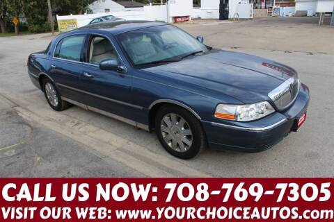 2005 Lincoln Town Car for sale at Your Choice Autos in Posen IL