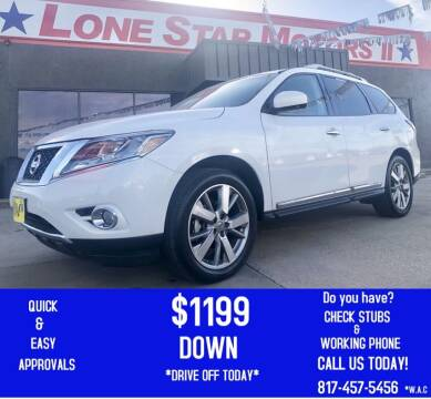 2013 Nissan Pathfinder for sale at LONE STAR MOTORS II in Fort Worth TX