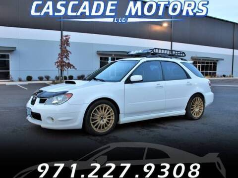 2006 Subaru Impreza for sale at Cascade Motors in Portland OR