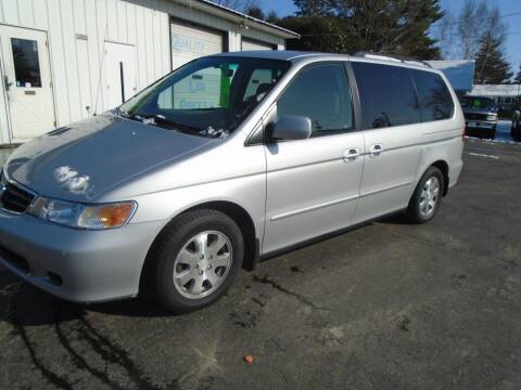 2002 Honda Odyssey for sale at NORTHLAND AUTO SALES in Dale WI