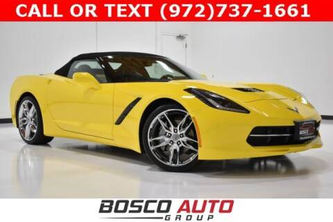 2018 Chevrolet Corvette for sale at Bosco Auto Group in Flower Mound TX