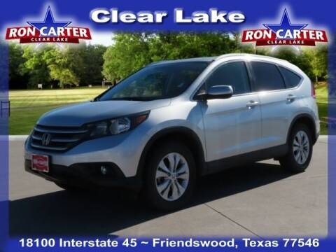 2014 Honda CR-V for sale at Ron Carter  Clear Lake Used Cars in Houston TX