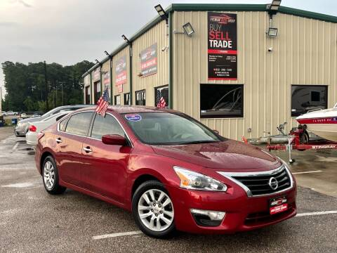 2014 Nissan Altima for sale at Premium Auto Group in Humble TX